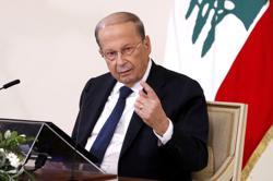 Lebanon's president exerting all efforts to form gov't