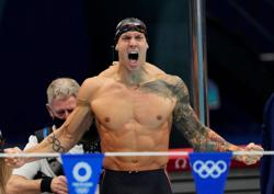 Olympics-Dressel hopes to keep a low profile despite Olympic triumph