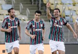 Soccer-Fluminense win sets Brazilian record in Copa Libertadores