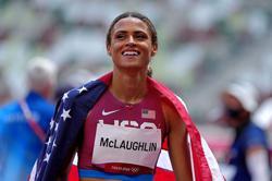 Olympics-Athletics-American McLaughlin breaks world record to win women's 400 hurdles