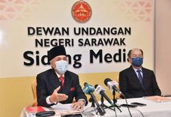 S'wak Speaker: 2022 state budget can be approved by CM, financial authority without sitting during Emergency