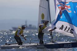 Olympics-Sailing-Belcher and Ryan bag 470 sailing gold for Australia
