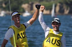 Olympics-Sailing-Australia, Britain win gold as Games regatta closes