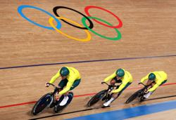 Olympics-Cycling-Australian Glaetzer withdrawn from track sprint