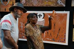 Darwin Aboriginal Art Fair online set to connect with global audience