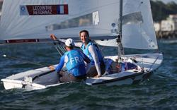 Olympics-Sailing-France protest result of women's 470 race