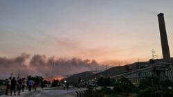Fire near Turkish power plant under control - local mayor