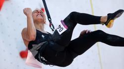 Olympics-Climbing-Slovenian Garnbret tops qualifier as Britain's Coxsey bows out
