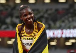 Olympics-Athletics-Chemutai secures steeplechase gold for Uganda