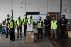 Airline and Sikhs NGO team up to deliver Oxygen concentrators to Indonesia