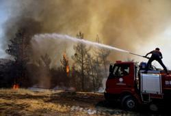 Mediterranean has become a 'wildfire hotspot', EU scientists say