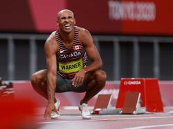 Olympics-Athletics-Canada's Warner starts fast to grab halfway lead in decathlon