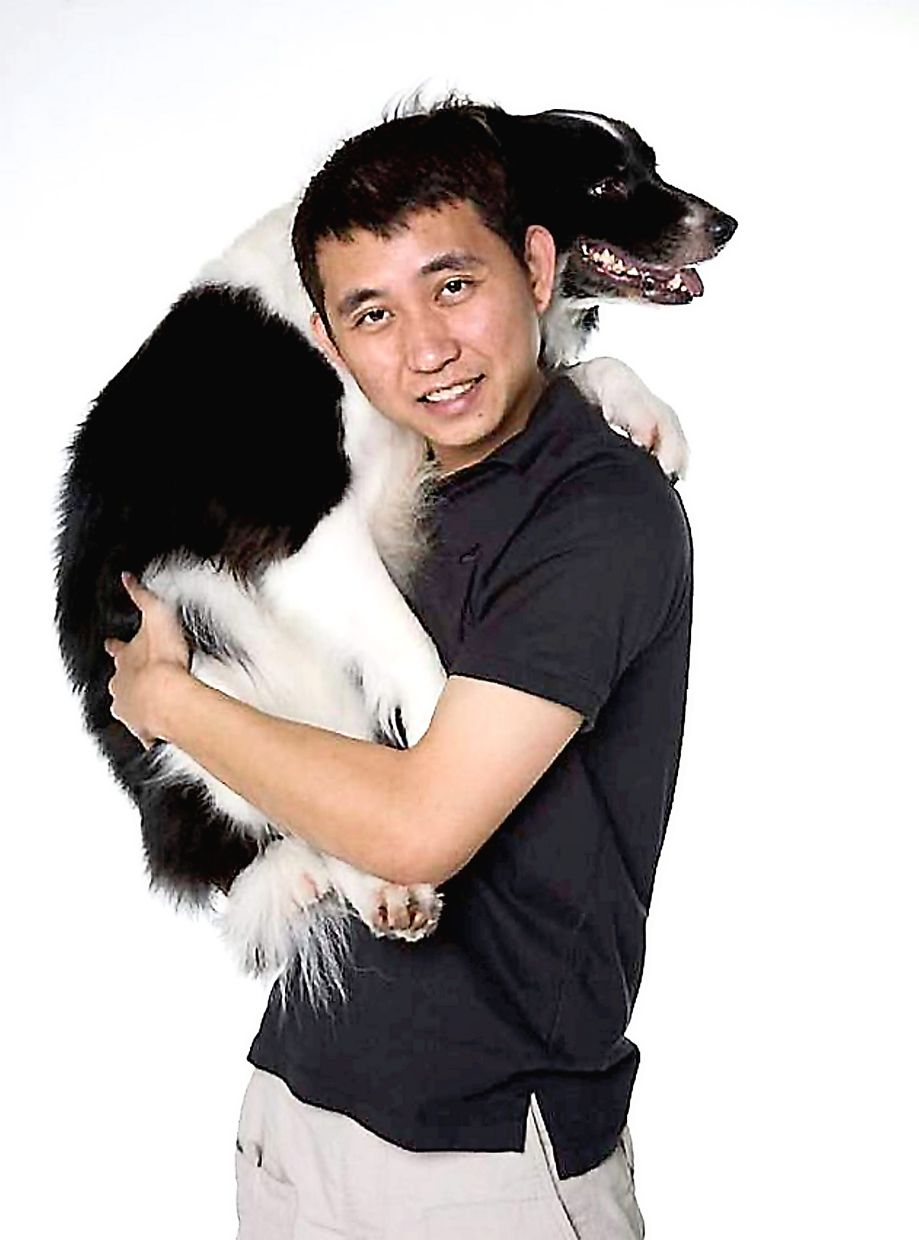 Leow says the interaction between a pet owner and their pet is a form of animal-assisted therapy which  helps them cope with stress.