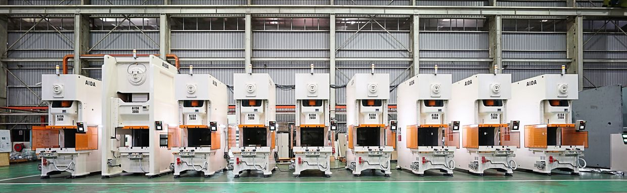 One of AIDA Engineering Malaysia's export products is the press line with synchronised motion control.