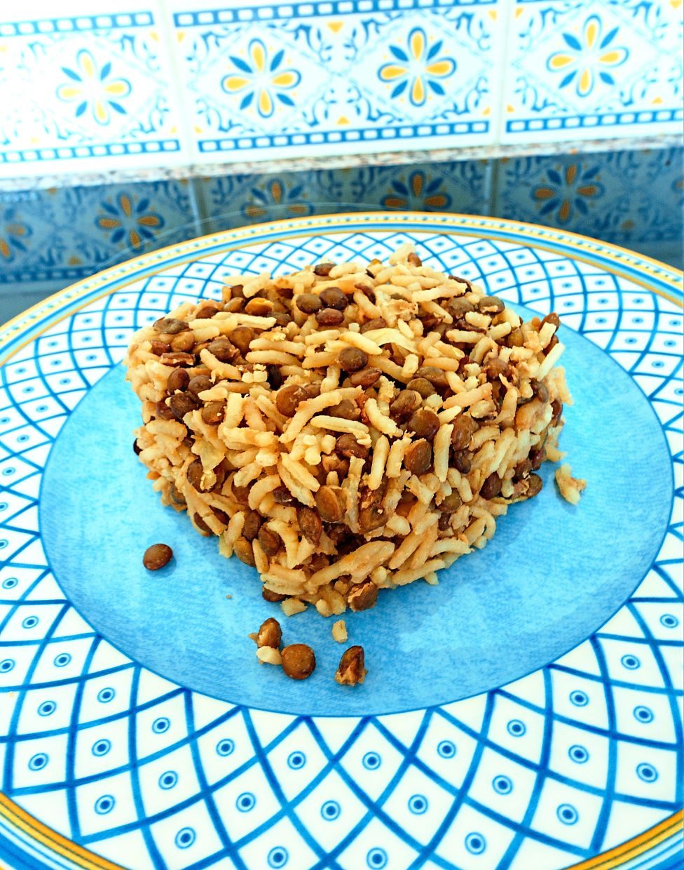 The columnist's lentil rice recipe is great for people on flexitarian diets looking for wholesome meals. — CHRIS CHAN