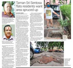 Residents' failure to pay up results in lack of maintenance funds