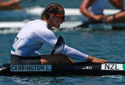 Olympics-Canoe sprint-New Zealand's Carrington wins women's kayak single 500m gold