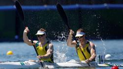 Olympics-Canoe sprint-Australia win men's kayak double 1000m gold