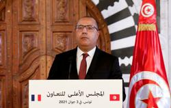 Dismissed Tunisian PM Mechichi appears for first time in 11 days