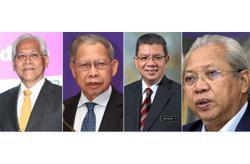 Idris, Tok Pa, Saifuddin and Annuar back PM