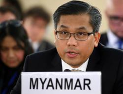Myanmar envoy alerts United Nations to alleged 'massacre'
