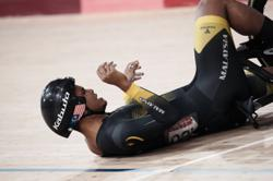 Cyclist Shah Firdaus taken to hospital after race