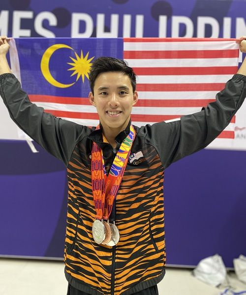 Winning several championships helped in Sim's mental preparedness ahead of Tokyo, unlike his experience at the Rio Olympics 2016.