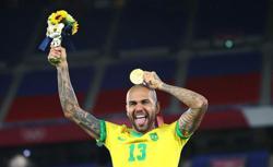 Olympics-Soccer-Brazil's evergreen Alves savours golden dream