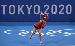 Olympics-Tennis-Surprise medallists as Osaka, Djokovic succumb to pressure