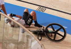 Olympics-Cycling-Valente recovers from crash to take historic gold