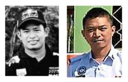 Home Minister, IGP pay last respects to cops killed while in pursuit of mat rempit