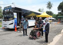 Villagers in Kedah receive their doses on board mobile vaccination bus