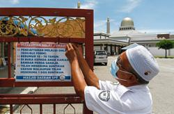 Moderate Maal Hijrah celebrations at mosques