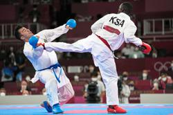 What are karate's future prospects at Olympics?