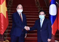 Laos, Vietnam ink 14 agreements to strengthen ties