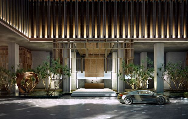 There is no shortage of facilities to give Lucentia residents a sense of opulence.