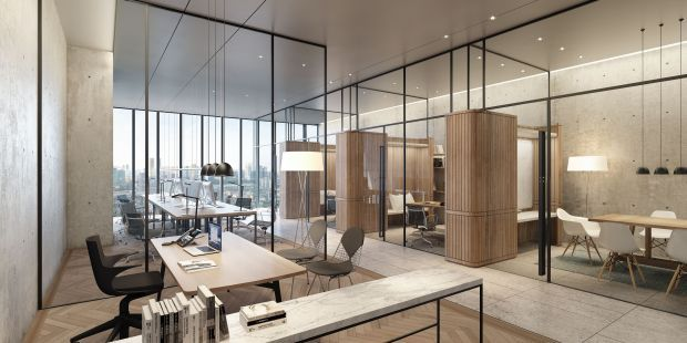 Flexible office spaces in The Stride mean that corporate clients can opt for an office that suits their needs.