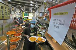 Nasi kandar joints not ready to serve dine-in patrons