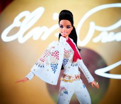 Barbie celebrates Elvis Presley with collectible doll