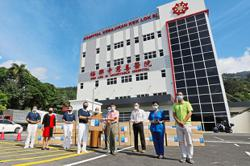Timely aid for charitable hospital