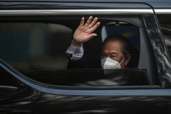 Muhyiddin arrives at Perdana Putra for special Cabinet meet