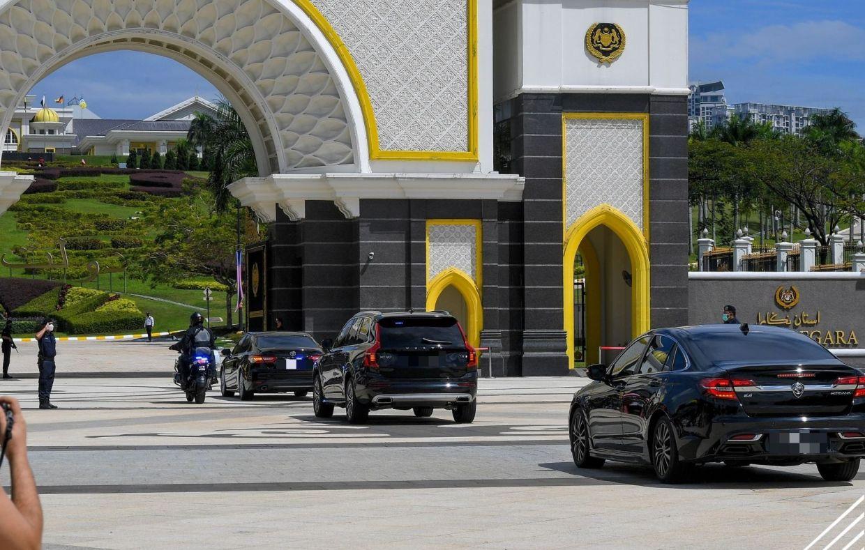Political leaders arrive at Istana Negara | The Star