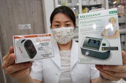 High demand for home self-test kits