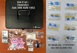 Cops arrest four, seize drugs worth RM44,000 in Shah Alam