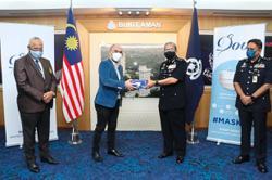 Face masks for police