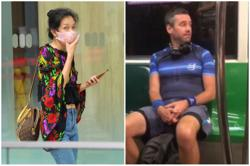 Singapore woman held after shouting in court during trial of mask-less Briton