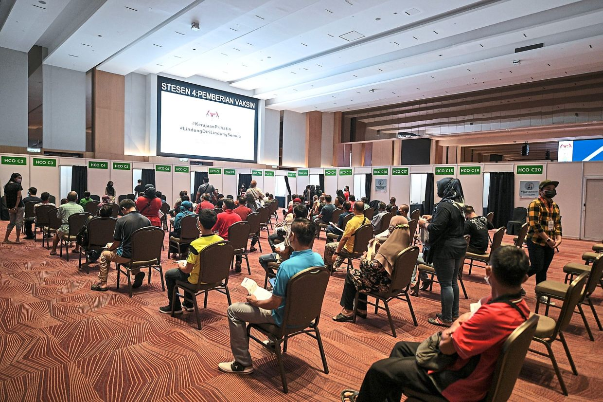 The PPV at SPICE Convention Centre is open seven days a week. — Bernama
