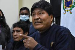 Bolivia's Morales says he would be exonerated if new probes on 'massacres' opened