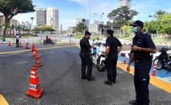 Strong police presence in Kuala Lumpur ahead of planned protest