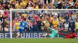 Soccer-Brighton go joint top with win over Watford